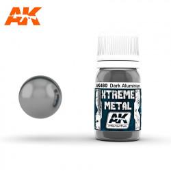 Xtreme Metal Dark Aluminium, 30 ml.