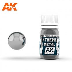 Xtreme Metal Polished Aluminium, 30 ml.