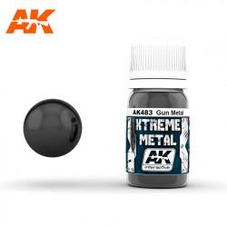 Xtreme Metal Gun Metal, 30 ml.