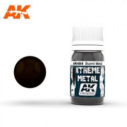Xtreme Metal Burnt Metal, 30 ml.