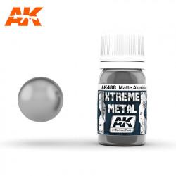 Xtreme Metal Matte Aluminium, 30 ml.