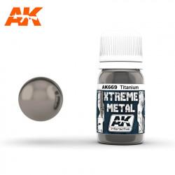 Xtreme Metal Titanium, 30 ml.