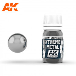 Xtreme Metal Stainless Steel, 30 ml.