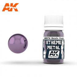 Xtreme Metal Metallic Purple, 30 ml.