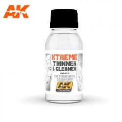 Limpiador y diluyente Xtreme, 100 ml.