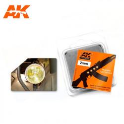 Amber Lense 2 mm (x4).