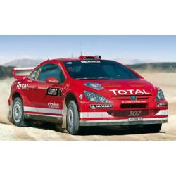 Peugeot 307 WRC 04. HELLER 80115