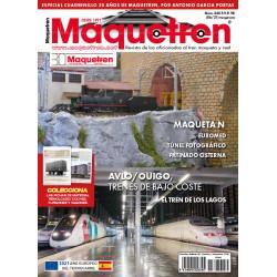 Revista Maquetren, nº 340. Especial 30 años.