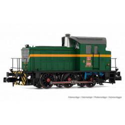Diesel locomotive 303.035, RENFE. Digital.