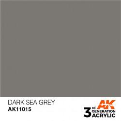 Pintura acrílica gris mar oscuro estándar, 17 ml.