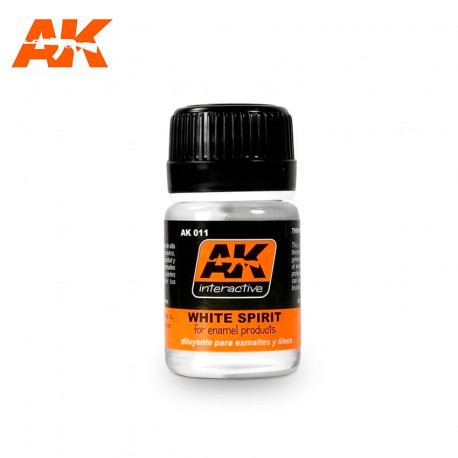 White Spirit. 35 ml.