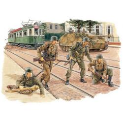 Panzergranaderos alemanes.