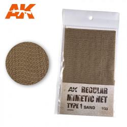 Camouflage net sand type 1.