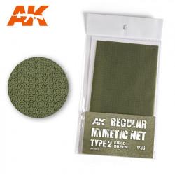 Camouflage net field green type 2.