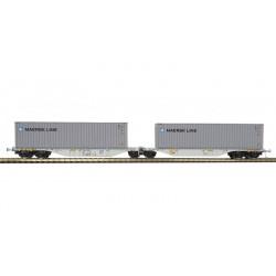 """Container car """"MAERSK LINE"""", VTG."""