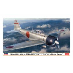 Mitsubishi A6M2a Zero fighter.
