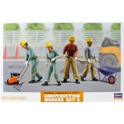 Construction worker. Set A.