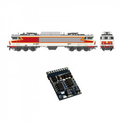 Decoder 21 pins para CC-6500 SNCF.