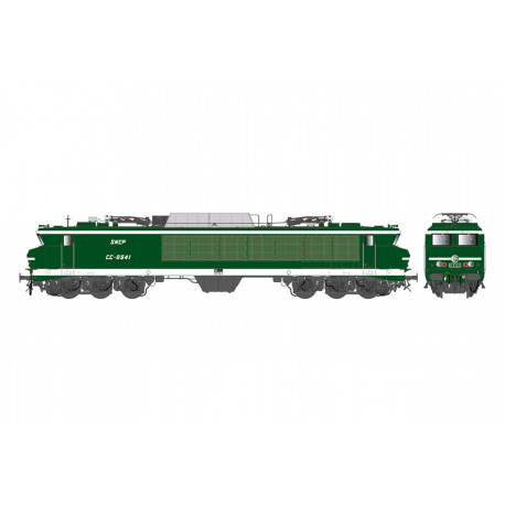 Electric locomotive CC 6541, SNCF.