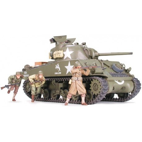 M4 A3 Sherman, Late versión. TAMIYA 35250