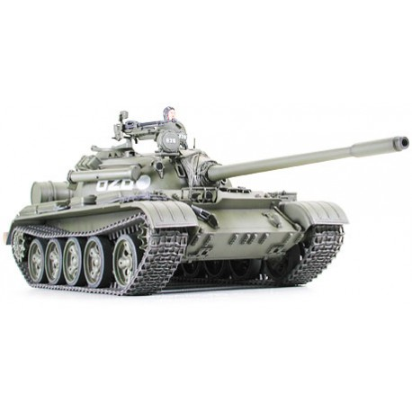 Russian medium tank T-55A. TAMIYA 35257