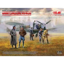 Aeródromo de la Luftwaffe de la WWII.