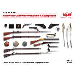 Armas y equipos de la Guerra Civil Estadounidense.