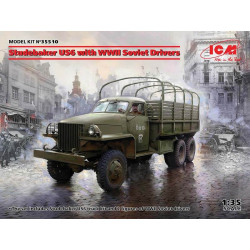 Studebaker US6 with WWII Soviet Drivers.
