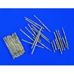 Estacas de bambú.