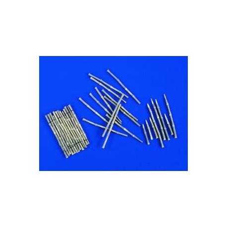 Estacas de bambú. VERLINDEN 2377