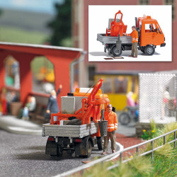 Multicar with sweeper vehicle. BUSCH 42212sweeper