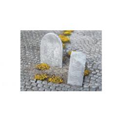 Tumbas de piedra.