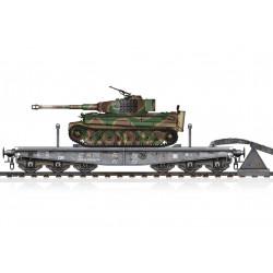 Plattformwagen with Tiger I.