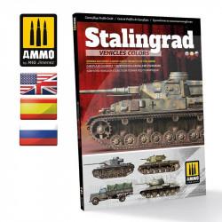 Camuflajes de los vehículos en la Batalla de Stalingrado.