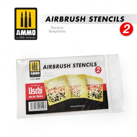 Airbrush stencils 2.