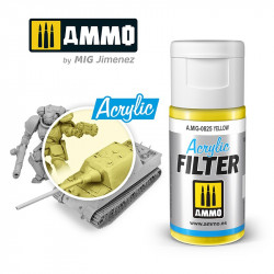 Acrylic filter: yellow. 15 ml.