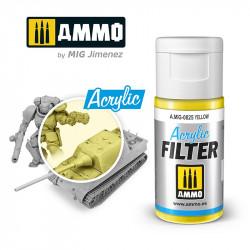 Filtro acrílico: amarillo. 15 ml.