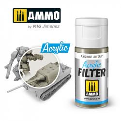 Acrylic filter: light grey. 15 ml.
