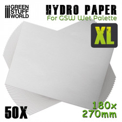 Hidro papel XL (x50).