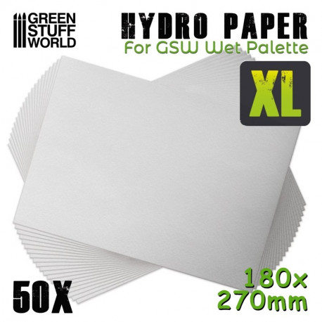 Hydro paper XL.