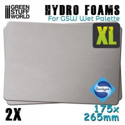 Hidro esponjas XL (x2).