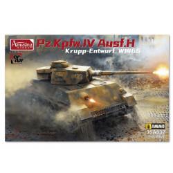 Pz.Kpfw.IV Ausf. H Krupp-Entwurf.