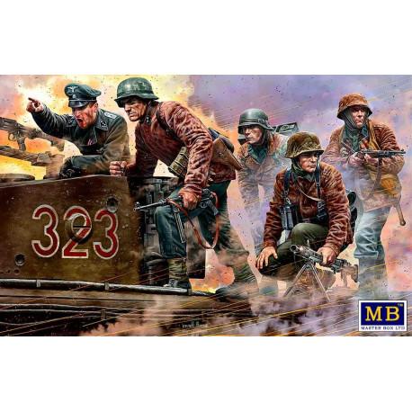 German military men.