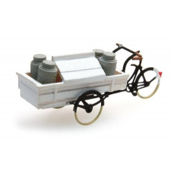 Carrier tricycle dairy.