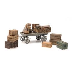Platform cargo: general cargo with cart.