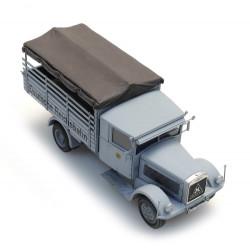 Camión Hansa LLoyd Merkur.