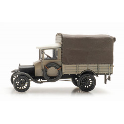 Ford Model TT grey with cover.