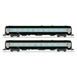 Set de coches UIC, SNCF.
