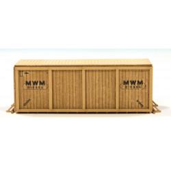 Cajas de madera, MWM Diesel.