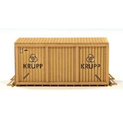 MWM Diesel wooden box.